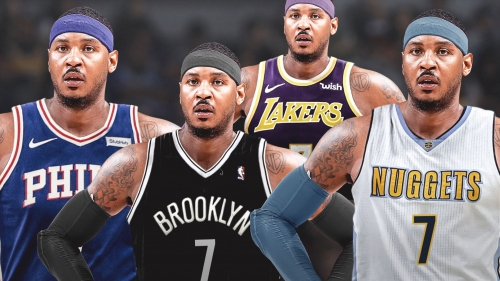 Odds on Carmelo Anthony's next NBA team after the Rockets