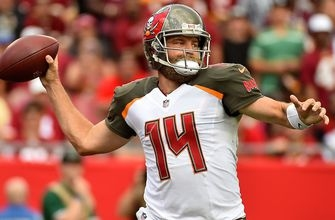 Buccaneers going forward with Ryan Fitzpatrick as No. 1 quarterback