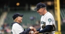Third base coach Scott Brosius decides to leave the Mariners' coaching staff