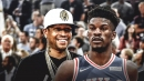 Sixers legend Allen Iverson reacts to the Jimmy Butler trade