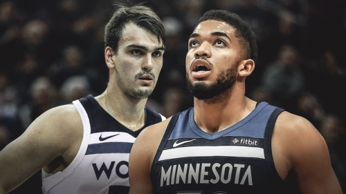Dario Saric not concerned about fit with Timberwolves' Karl-Anthony Towns after playing next to Joel Embiid
