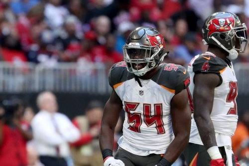 Lavonte David reportedly sprained his MCL