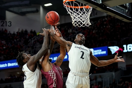 Bearcats Coast to 73-51 Rout of NC Central