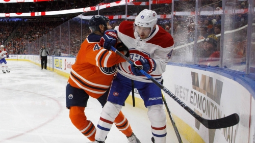 NHL Live Tracker: Oilers vs. Canadiens