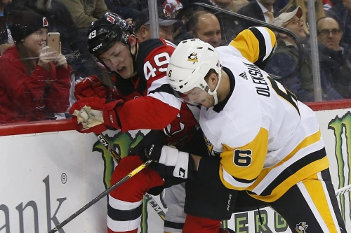 Penguins/Devils Recap: Hall's four point night sinks Pittsburgh