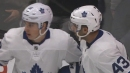 Maple Leafs' Kadri taps in pretty pass from Marner on power play