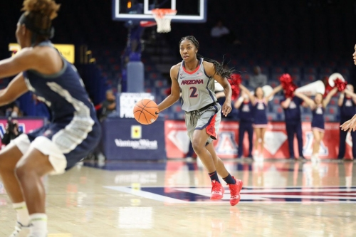McDonald ties school record, but Arizona comeback attempt fails