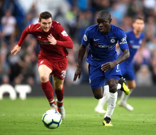 Arsenal & Liverpool lead running statistics, but Chelsea star N'Golo Kante reigns supreme