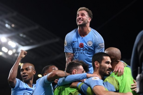 Pep Guardiola encouraged by the reaction of his Man City players