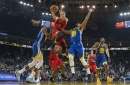 Another third quarter slip leads to Hawks defeat against Warriors
