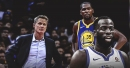 Steve Kerr reacts to Kevin Durant's 1st game since Draymond Green confrontation