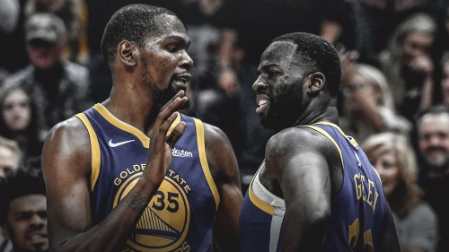 One Golden State player has made it a mission to reconcile Kevin Durant, Draymond Green