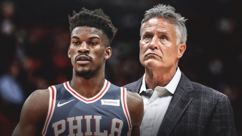 Sixers coach Brett Brown confirms new starting lineup with Jimmy Butler in town