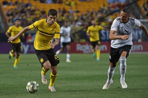 Liverpool FC target Christian Pulisic keen on 'dream' move to Premier League