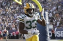 More red zone possessions available with the help of Aaron Jones