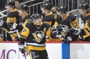 Sidney Crosby misses practice with an upper-body injury