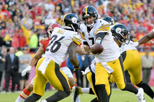 """Ben Roethlisberger on Le'Veon Bell: """"the good thing is we don't have to talk about it anymore."""""""
