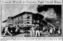 Fire at the Congress Hotel
