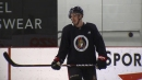 Boucher hopeful Pageau skating means early Senators return