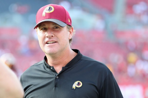Jay Gruden Redskins Presser: Trent Williams out again vs Texans