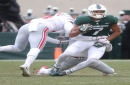 Michigan State football hobbled, but happy to have Cody White back