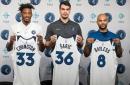 Meet new Timberwolves players Covington, Saric, Bayless