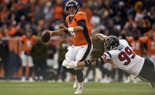 "Broncos Briefs: ""Whatever-it-takes time,"" with seven games left, Case Keenum says"