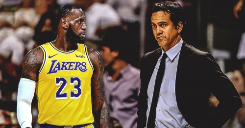 Heat coach Erik Spoelstra says LeBron James got a lot of people fired