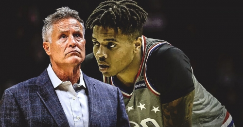 Sixers coach Brett Brown says Markelle Fultz has done nothing wrong to lose starting spot