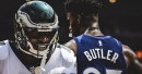 Eagles' Alshon Jeffrey speaks on Sixers trading for Jimmy Butler