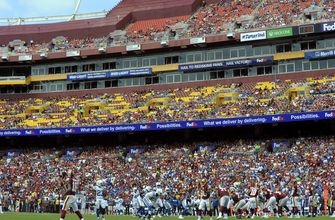 Redskins' home-field disadvantage in spotlight vs Texans
