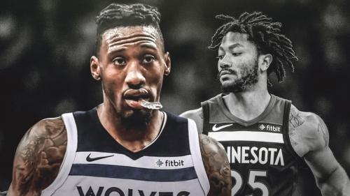 Timberwolves' Derrick Rose out, Robert Covington to start vs. Pelicans