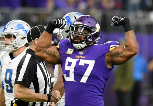 Vikings' Sheldon Richardson: Everson Griffen 'getting his confidence back'