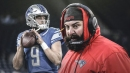Lions head coach Matt Patricia defends Matthew Stafford amid criticism