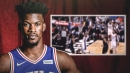 Sixers video: Jimmy Butler scores first Philly basket off sweet pass from Joel Embiid
