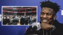 Video: Jimmy Butler gets big ovation in Orlando for Sixers debut