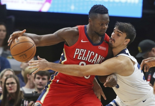 Pelicans fall to new-look Timberwolves 107-100
