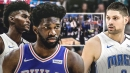 Video: Sixers' Joel Embiid gets rejected by Magic's Jonathan Isaac