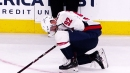 Capitals' Evgeny Kuznetsov leaves game vs. Jets with injury