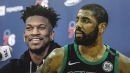 Celtics news: Kyrie Irving shoots down concern about Jimmy Butler making Sixers much better