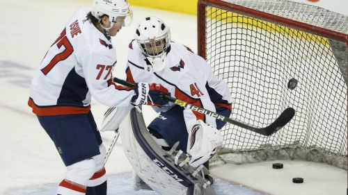 University of Manitoba coach serves as backup for Capitals