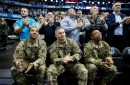 14th annual Seats for Soldiers night provides as many feel-good moments as Mavs' 50-point victory