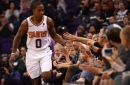 Suns explode, burn Spurs in rout