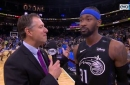 Terrence Ross discusses his game-winning shot in the Magic victory over the 76ers.