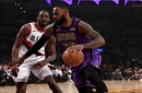 LeBron James Moves Up NBA All-Time Scoring List, Lakers Extend Winning Streak With Comeback Victory Against Trail Blazers
