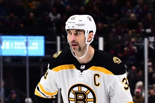 Zdeno Chara left last night's game early with ugly knee injury