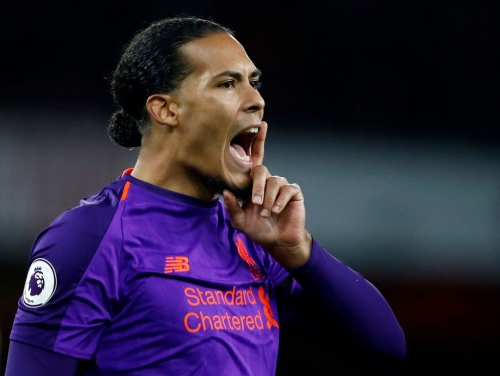 Virgil van Dijk talks up Liverpool move for Ajax star Matthijs de Ligt