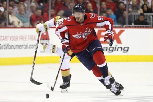 Washington Capitals Evgeny Kuznetsov Injured