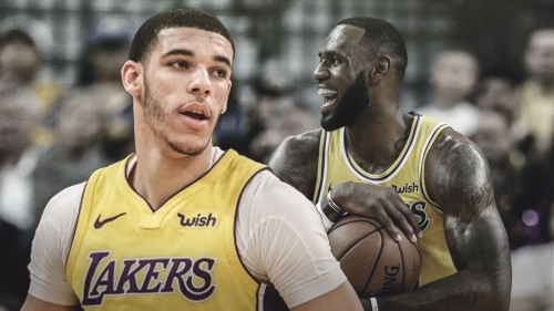 Lakers guard Lonzo Ball marvels at being part of LeBron James' historic night