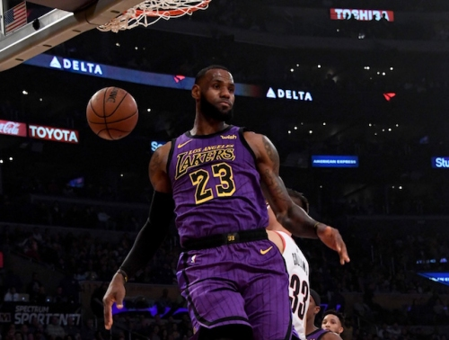 Lakers Highlights: LeBron James Makes History Against Trail Blazers In Fourth Straight Win